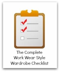 Wardrobe Checklist, Wardrobe Planning