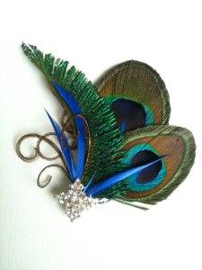 Peacock, Broach