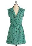 Retro Dress, Business Clothes