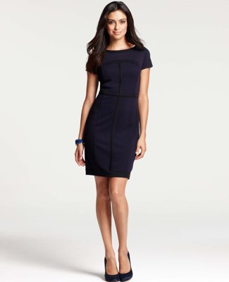 Business clothes, dressing for success, sheath dress