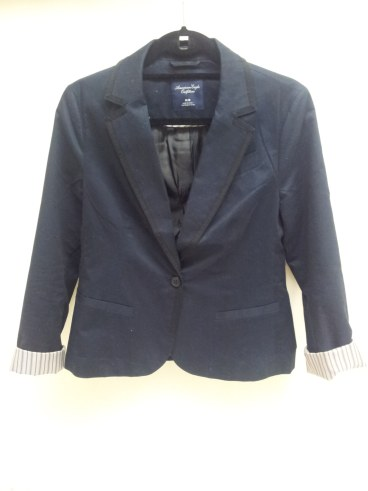 Navy Blazer, American Eagle, Business Clothes