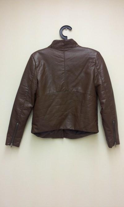 brown moto jacket, joe fresh