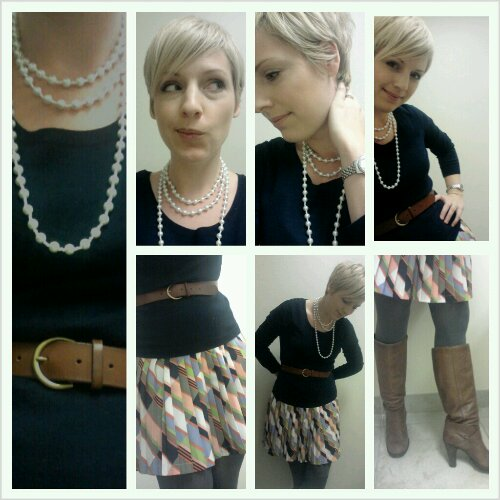 pearl necklace, conservative looks, business clothes for women, dressing for success