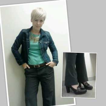Denim jacket, business clothes for women, denim jacket 3 ways