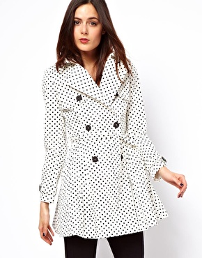 Spotted Trench - $113.13 via asos.com