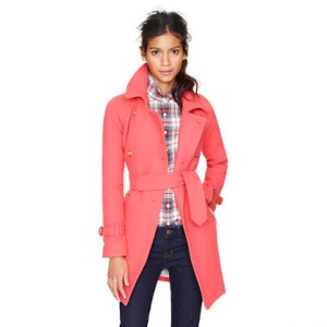 Pink Trench Coat for Women