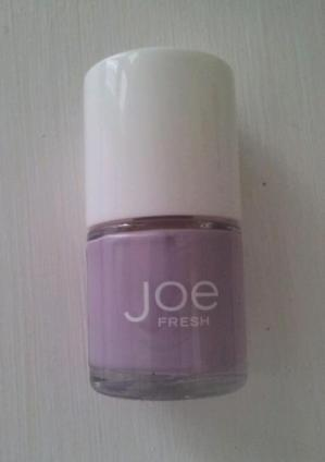 Lavender nail polish for work. nail art