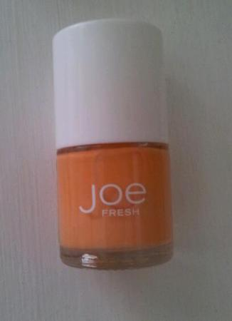 Joe Fresh nail polish, Spring colours