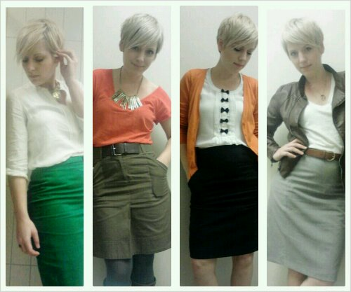 Skirts for Work, what to wear with skirts