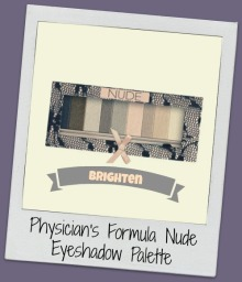 eye shadow, nude palette, physician's formula