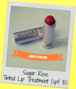 sugar rose tinted lip treatment