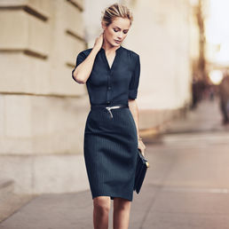 Navy Pencil Skirt, Jones New York